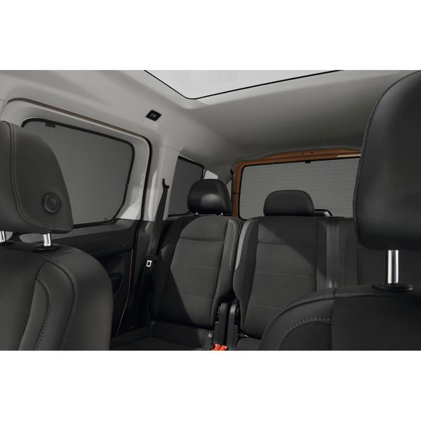 Original VW Caddy 5 Sonnenschutz Satz hinten 5-teilig 2K7064365