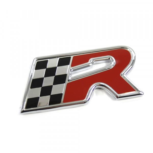 Original Seat R Cupra Schriftzug hinten Heckklappe Emblem Tuning Logo