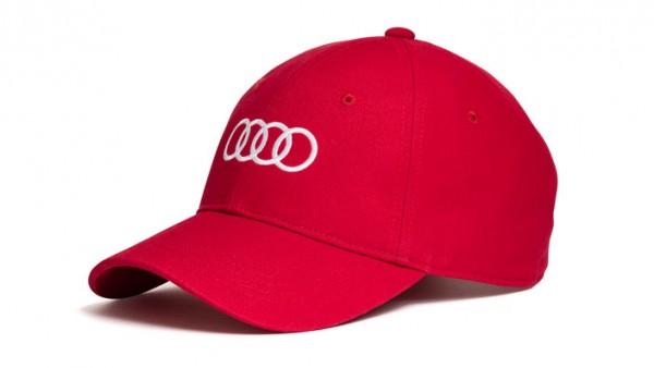 Baseballkappe Basecap rot Original Audi Sport Cap unisex