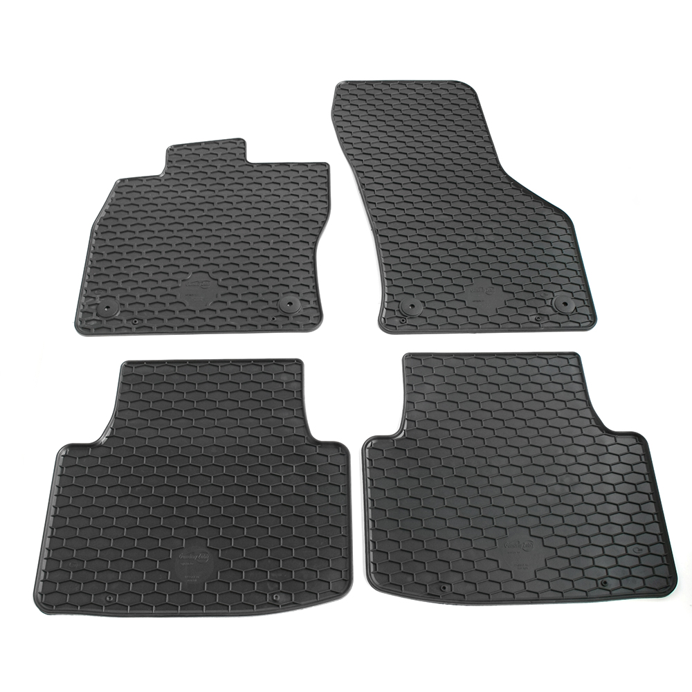 Gummimatten Gummi Fußmatten für VW Touran 2 II ab 2015 Original Qualität