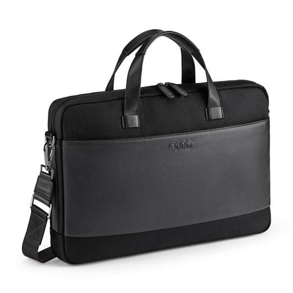 Original Audi Sport Businesstasche Laptop Aktentasche schwarz 3151900900