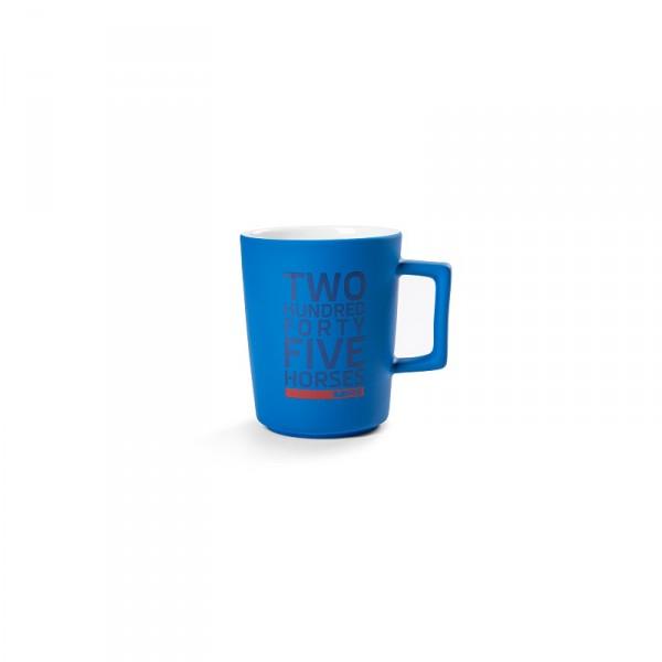 Original Skoda RS Tasse Porzellan Accessoires Becher blau