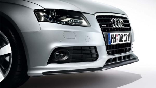 Original Audi Frontschürze A4 (B8 8K) Frontspoiler mit Blade (grundiert) Tuning Sport Spoiler