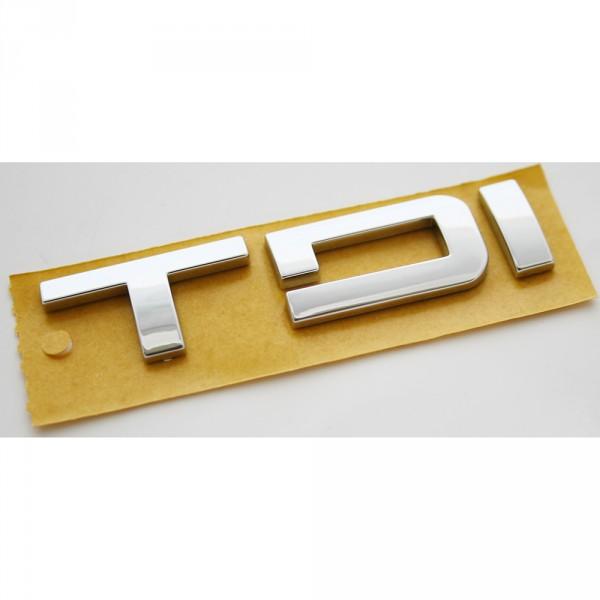 Original Seat TDI Schriftzug hinten Heckklappe Emblem Logo Zeichen chrom