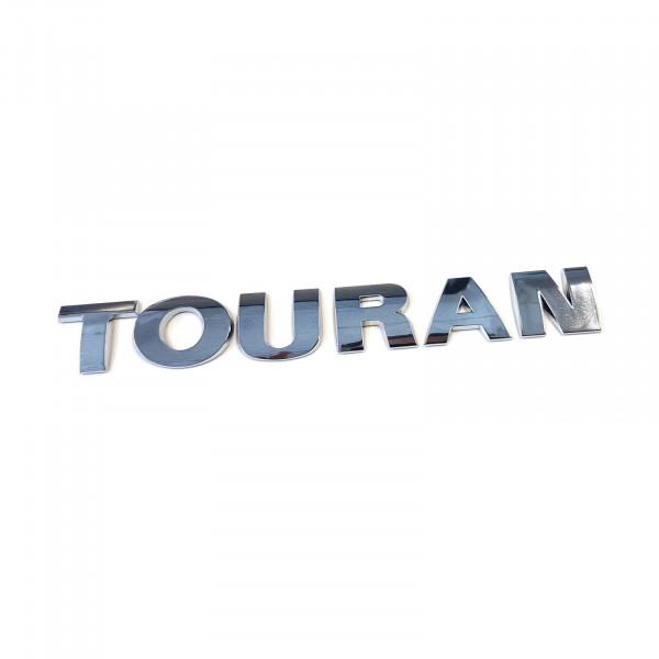 Original VW Touran (1T1/1T2) Schriftzug Emblem Logo chrom glänzend