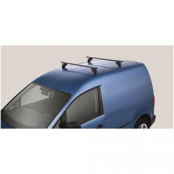 Vierkant Grundträger Tragstäbe Original VW Caddy Dachgepäckträger ohne Dachreling Rechteck