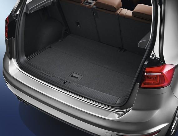 Ladekantenschutz VW Golf Sportsvan transparent Original Zubehör Schutzfolie