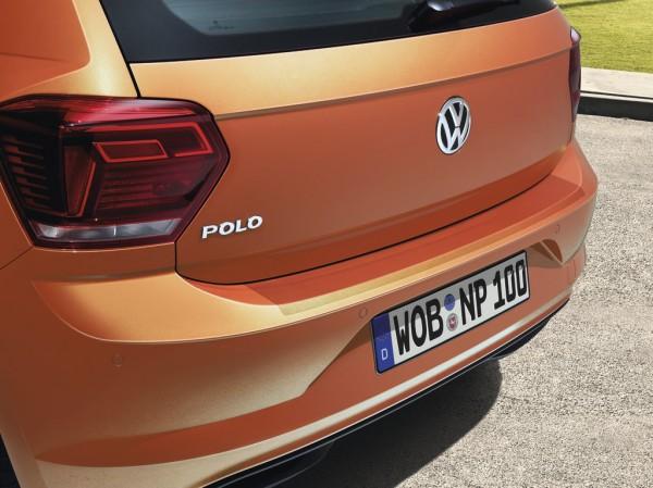 Ladekantenschutz transparent Lackschutzfolie Original VW Polo Kantenschutz Kofferraum Schutzfolie