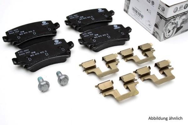 Original Audi Bremsbeläge RS4 8E Komplettsatz Hinterachse 1KY Bremsen Beläge 8E0698451P