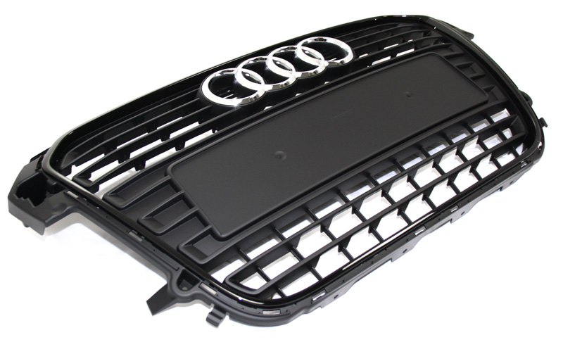 k hlergrill original audi a1 8x schwarz tuning grill inkl. Black Bedroom Furniture Sets. Home Design Ideas
