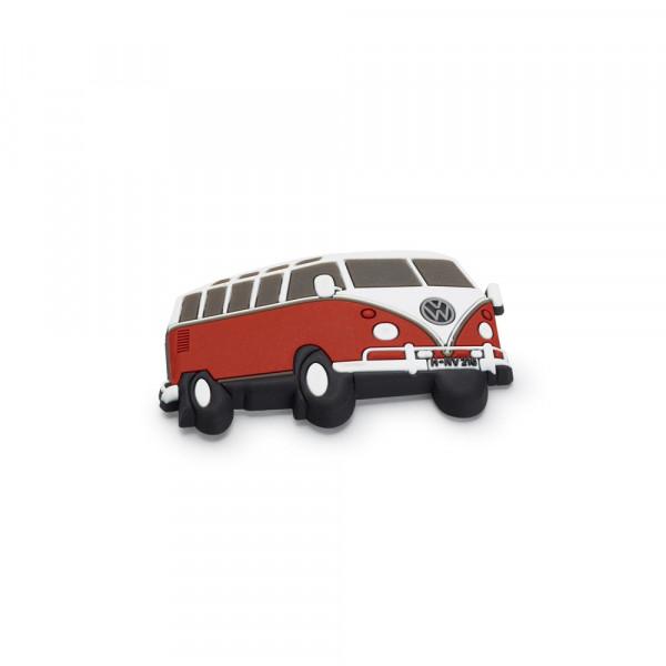 Original Volkswagen Magnet Bulli T1 Kühlschrankmagnet rot/weiß 2K0087703B