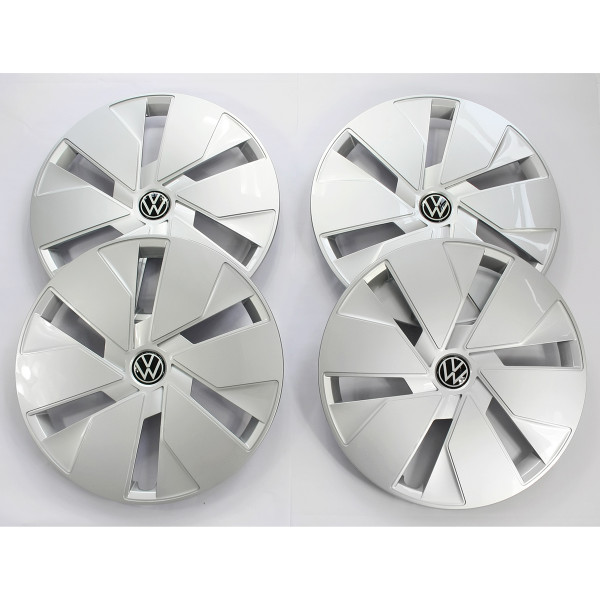 Original VW ID.3 Radkappen 18 Zoll Radzierblende Stahlfelgen Radblenden silber