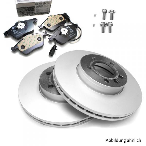 Original Audi Bremsenkomplettsatz Vorderachse Bremsen 1LZ Bremsscheiben Bremsbeläge 8E0098301B