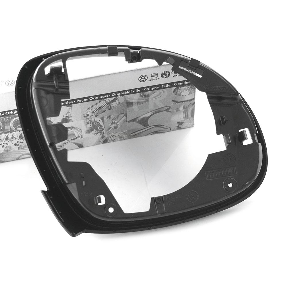 Original VW Spiegelrahmen links innen Außenspiegel Blende satinschwarz OEM