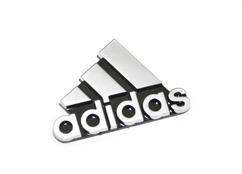 Details zu Schriftzug ADIDAS Emblem Original VW Golf Zeichen seitlich Chrom Schwarz OVP!