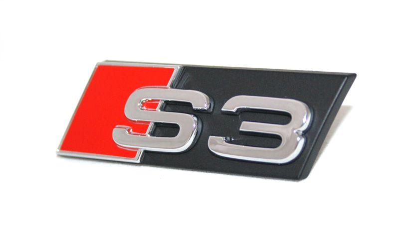 Schriftzug S3 Original Audi A3 8P 8V Khlergrill Emblem Tuning ...
